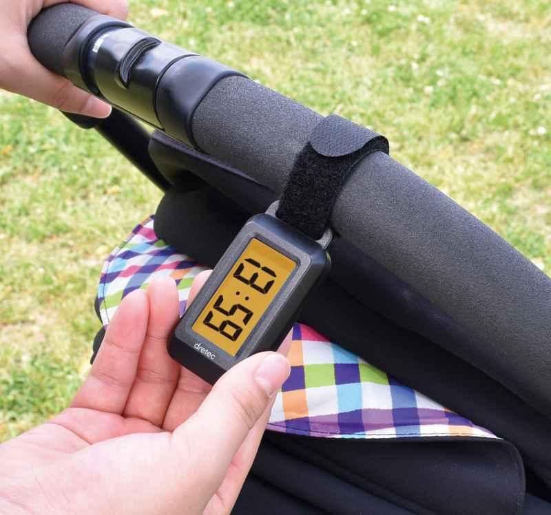 デジタル温湿度計「ブライン」の画像
