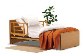 介護ベッド:プレオックスR 97cm幅シングルサイズ 背上げ機能付き