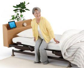 立ち上がりが楽な介護ベッド リハテックベッド RE03C
