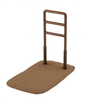 玄関、寝室、リビングどこでも使える手すり『木製どこでも手すりFBF1』