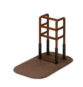 玄関、寝室、リビングどこでも使える手すり『木製どこでも手すりFB-F2』