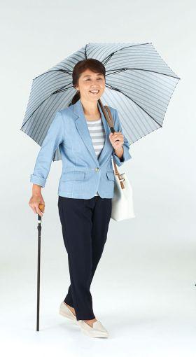 傘と杖がひとつに。傘なるステッキ