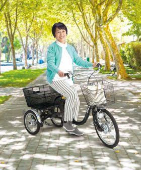 【2020年10月26日発売!】高齢者でも乗れる!電動アシスト三輪自転車 ASU-3WSRランドパル