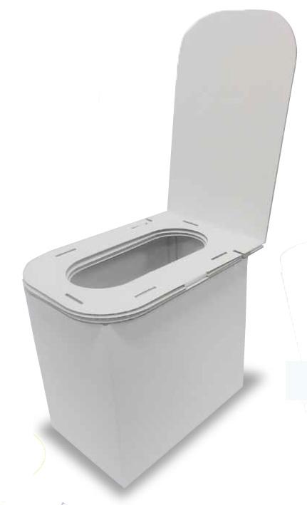 【災害時用】ダンボールトイレ40の画像