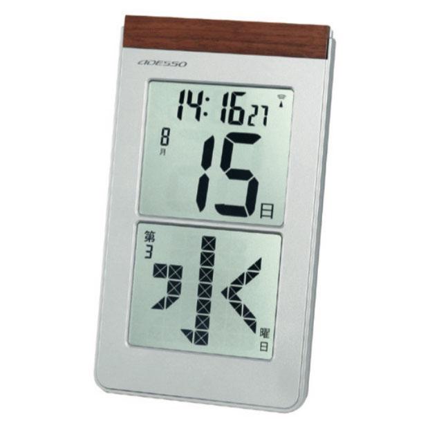 メガ曜日 日めくり電波時計 HM-301の画像