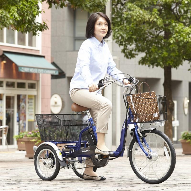 Reha tech 新型電動アシスト三輪車 ASU-3WT3の画像