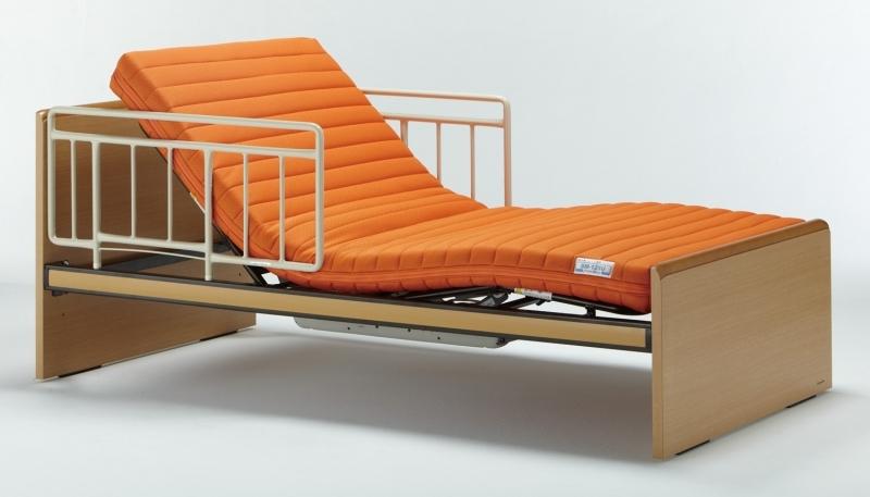 介護ベッド:プレオックスR 97cm幅シングルサイズ 背上げ機能付きの画像