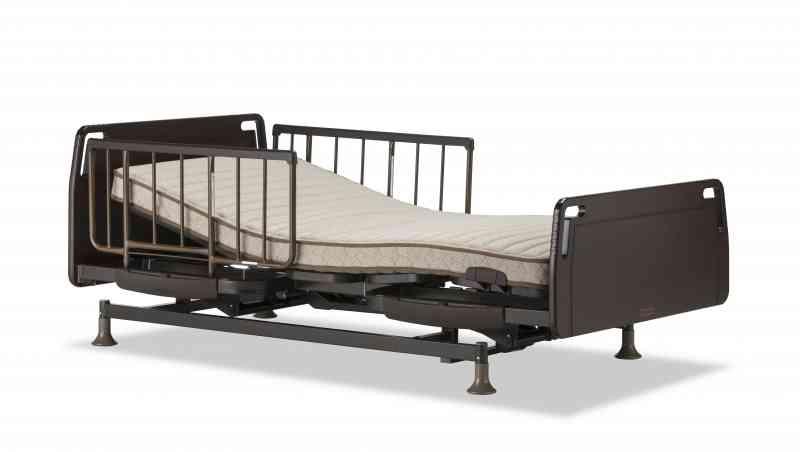 立ち上がりが楽な介護ベッド リハテックベッド RE02Fの画像