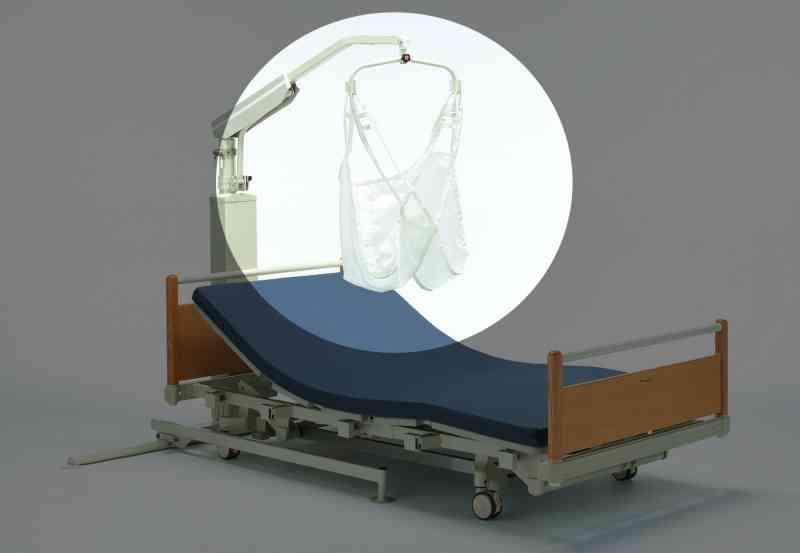 リフトEL-580/FL501/FL501ワイド用のスリングシート「P吊上シート入浴仕様」の画像