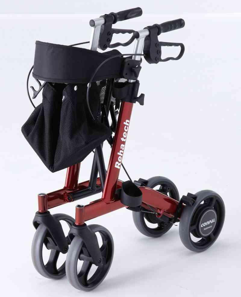 自動ブレーキで転倒防止!自動抑速ブレーキ付き歩行車 スマートウォーカーの画像