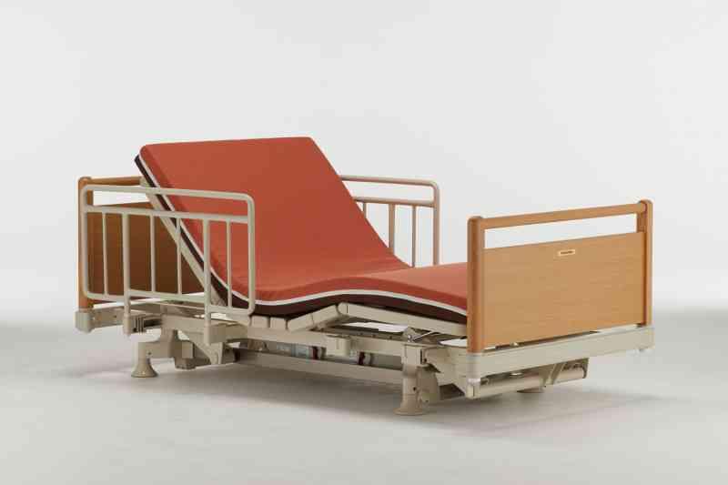 介護ベッド用手すり(スーパーショートサイズ用)サイドレール SR-100JJ SS 2本入り アイボリー (IV)の画像