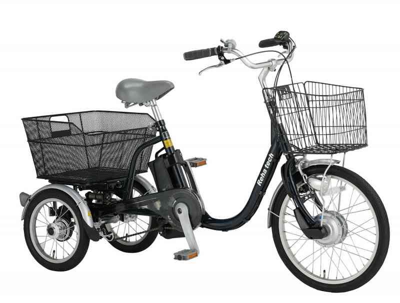 【2020年10月26日発売!】高齢者でも乗れる!電動アシスト三輪自転車 ASU-3WSRランドパルの画像