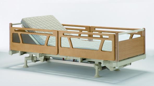 木製サイドレール SR-W1JJS(ショートサイズ用)2本1組 の画像