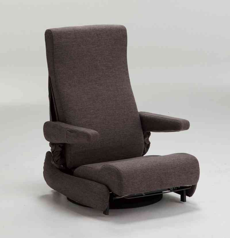 座いす型リフトアップチェア リクライニング1100  座椅子からの立ち上がりを補助 の画像
